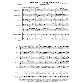 Hits For Marching Band 2017