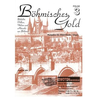 Böhmisches Gold 3 (Akkordeon/Orgel)